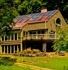 Residential solar home energy pv system array rooftop roof mount