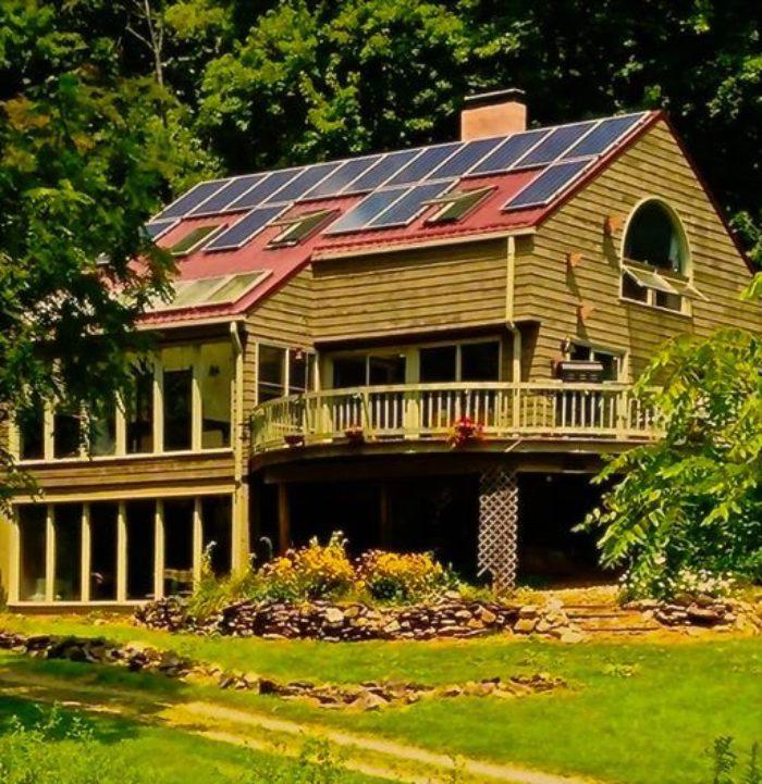 Candler, NC Cabin solar panels SolFarm Solar Co