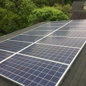 residential solar array energy pv system array