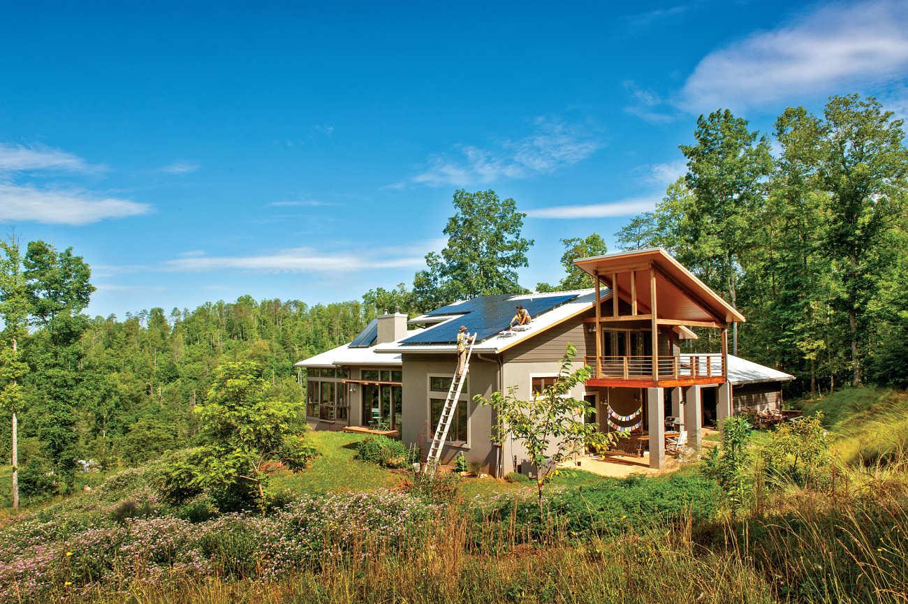 SolFarm residential solar energy installation magazine cover Asheville, NC