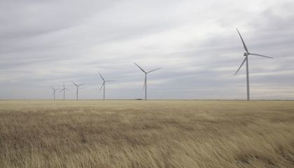 Texas wind turbines