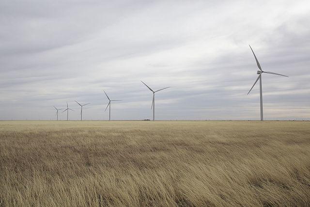 Texas wind turbines