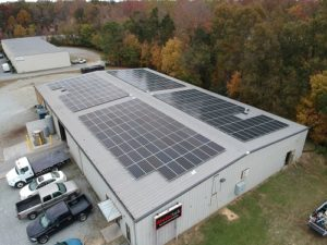 SolFarm Solar co 100kW solar energy system