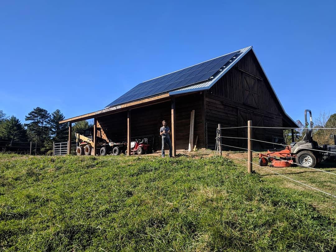 solfarm solar co barn usda rural renewable energy