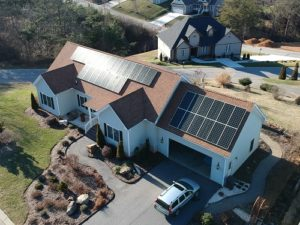 Leicester Village Residential Solar Energy Installation